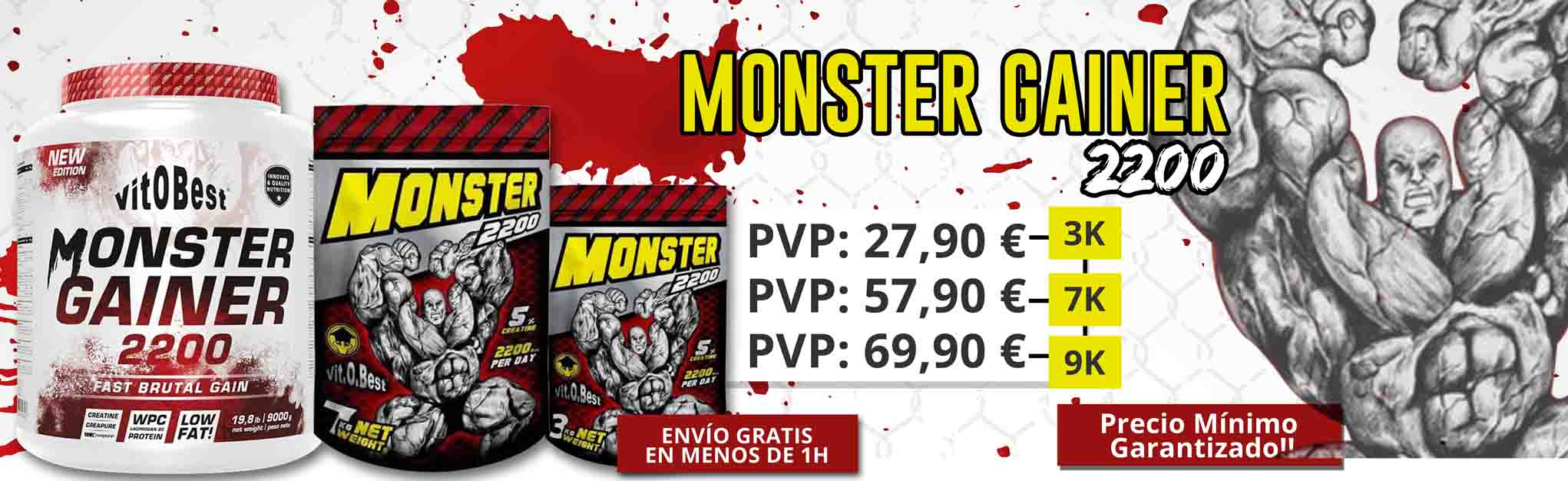 MONSTER GAINER